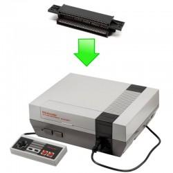 Réparation port cartouche NES (Nintendo)