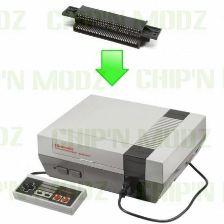 Réparation port cartouche Nintendo NES