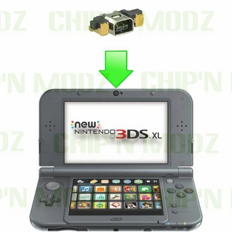 Réparation connecteur de charge New 3DS / New 3DS XL