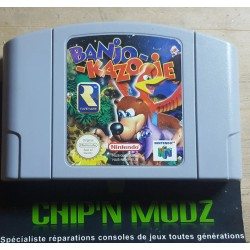 Banjo Kazooie - En loose - Nintendo 64, Version Française (PAL) - Bon état