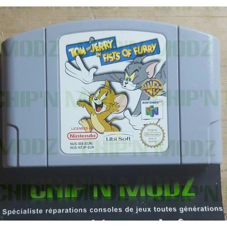 Tom & Jerry: Fist Of Furry - En loose - Nintendo 64, Version Française (PAL) - Bon état