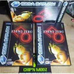 Ennemy Zero - Coffret 4 disques - Complet - Sega Saturn