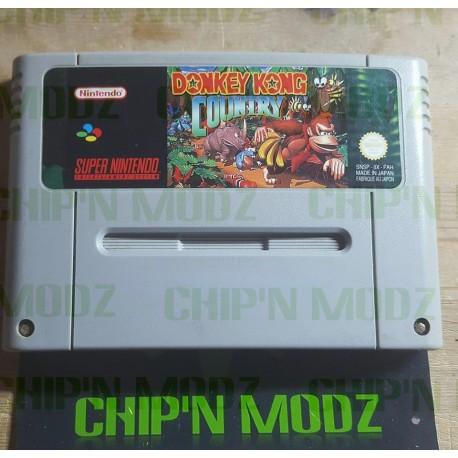 Donkey Kong Country - Super Nintendo - En loose - Très bon état