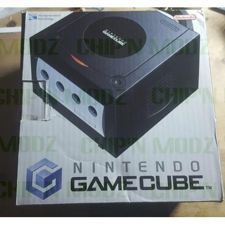 Console Nintendo Gamecube noire - En boite - Complète