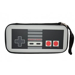 Pochette de transport Nintendo Switch - Semi-Rigide - Manette Retro NES