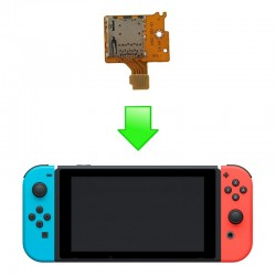 Réparation port carte micro SD - NINTENDO SWITCH