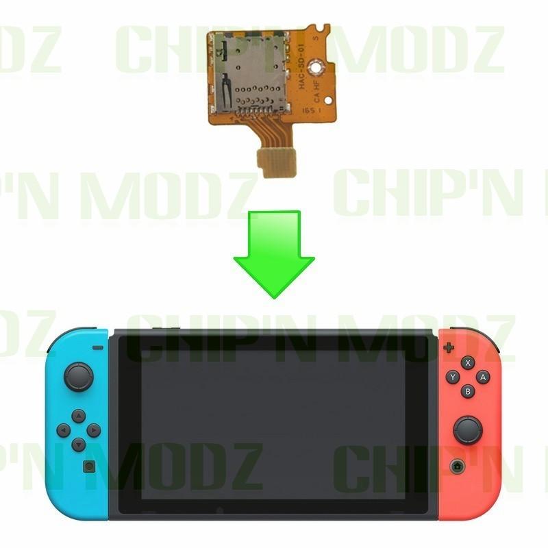 Reparation Lecteur Micro Sd Nintendo Switch