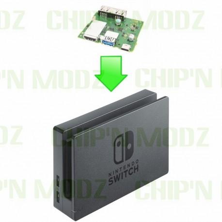Réparation Dock TV Nintendo Switch (HDmi, USB, USB-C...)
