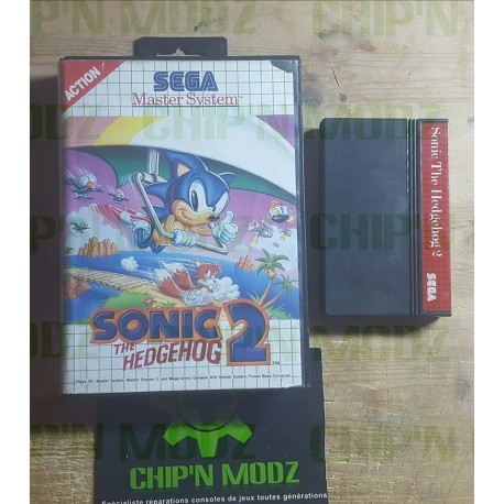 Sonic The Hedgehog 2 - En boite, sans notice - Mastersystem