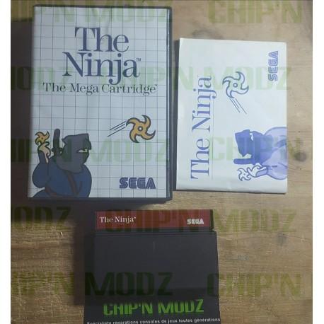 The Ninja - Master system - En boite, sans notice