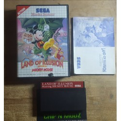 Land Of Illusion, Starring Mickey Mouse - Master system - Complet - En boite avec notice