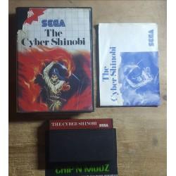 The Cyber Shinobi - Master system - COMPLET - En boite, avec notice