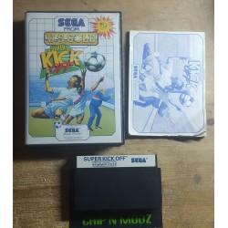 Super Kick Off - Master system - Complet - En boite, avec notice