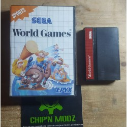 World Games - En boite, sans notice - Mastersystem