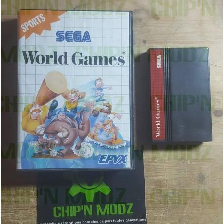 World Games - Master system - En boite, sans notice
