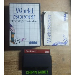 World Soccer- Master system -Complet - En boite, avec notice