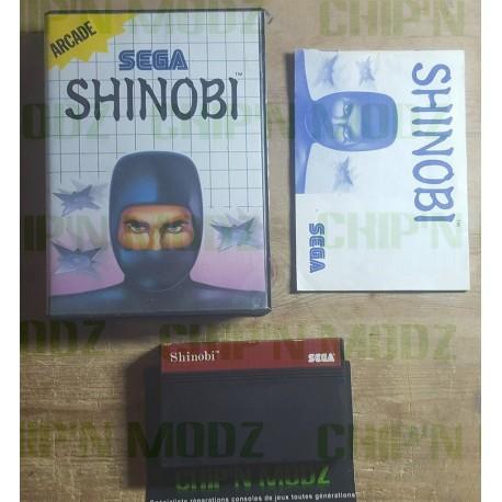 Shinobi - Master system - En boite, sans notice
