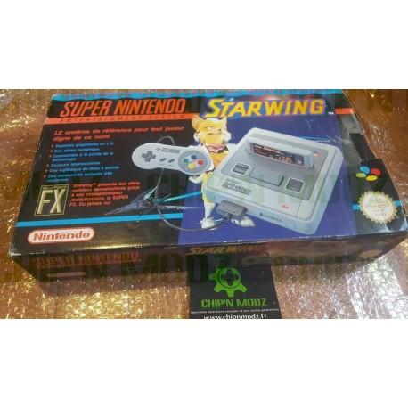 Super Nintendo - Pack Starwing FRA - Bon état