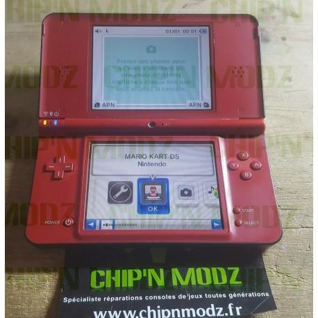 Console DSi XL rouge - Édition 25ème anniversaire Mario