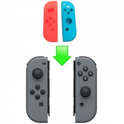 Changement coque Joy-con Switch