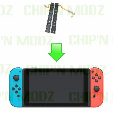 Réparation Rails de Fixations Joy-con, console Switch