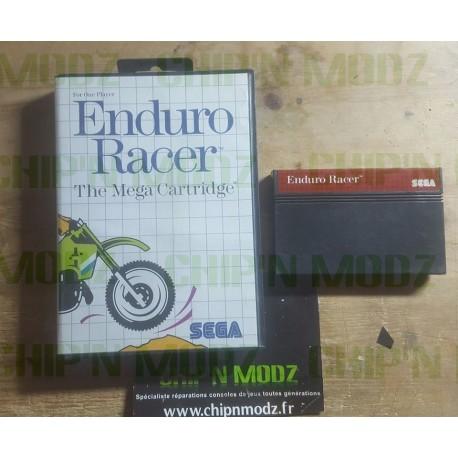 Enduro Racer - Master system - En boite, sans notice