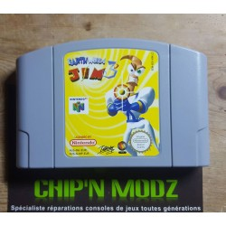 Earthworm Jim 3D - En loose - Nintendo 64