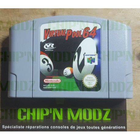 Virtual Pool 64 - En loose - Nintendo 64
