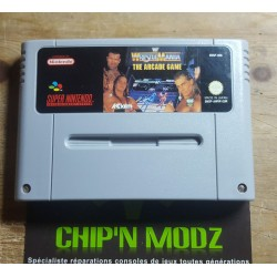 Wrestlemania: The Arcade Game - En loose - Super Nintendo