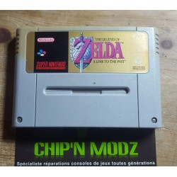 The Legend Of Zelda: A Link to the past - Super Nintendo - En loose - Très bon état