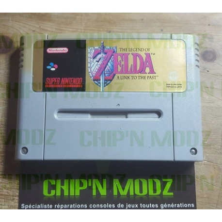 The Legend Of Zelda: A Link to the past - Super Nintendo - En loose - Très bon état
