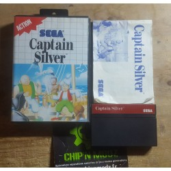 Captain Silver - Complet - Master system