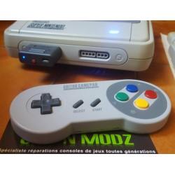 Manette SF30 + Retro Receiver SNES - 8bitdo - Super Nintendo / Super Famicom