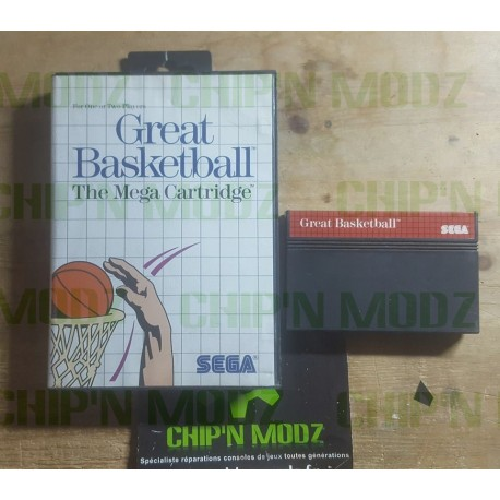 Great Basketball - En boite, sans notice - Mastersystem