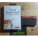 Great Basketball - En boite, sans notice - Mastersystem