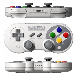 Manette SF30 PRO - 8bitdo - Switch, Windows, Android, MaOsX, Steam