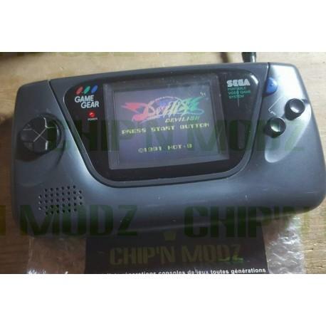 Sega Gamegear - Condensateurs NEUFS & Vitre neuve