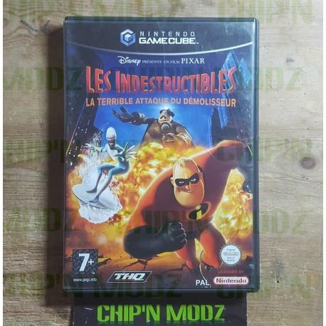 Les Indestructibles: La terrible attaque du démolisseur - Sans notice - Bon état - Gamecube - PAL