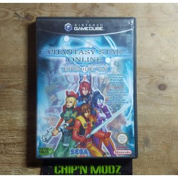 Phantasy Star Online 1 & 2 - Sans notice - Bon état - Gamecube - Version FRA