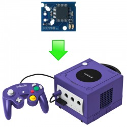 Installation puce Xeno GC Gamecube - Dézonage & Backups de jeux !