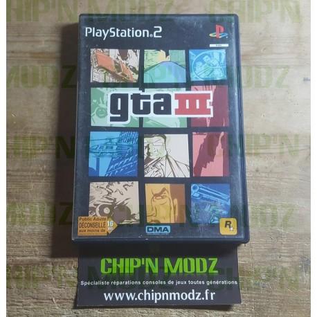 GTA III - PS2 - Complet