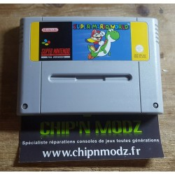 Super Mario World - En loose - Bon état - Super Nintendo