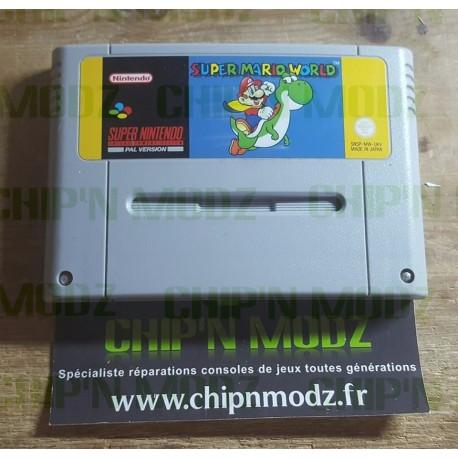 Super Mario World - Super Nintendo - En loose - Bon état