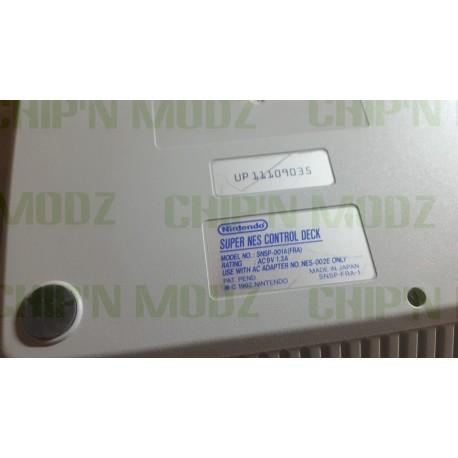 Super Nintendo Switchless (REGION FREE) - Version PAL Française