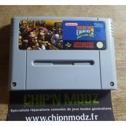 Donkey Kong Country 2: diddy's Kong Quest - En loose - Bon état - Super Nintendo