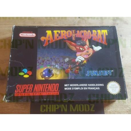 Aero The Accrobat - En boite, sans notice - Version PAL FAH