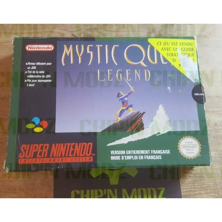 Mystic Quest Legend - En boite, sans notice - Version Française