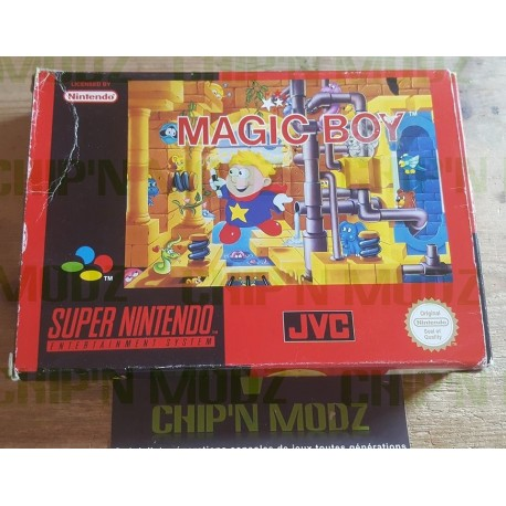 Magic Boy - En boite, sans notice - Version PAL EUR