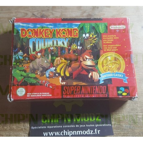 "Donkey Kong Country ""Classics"" - En boite, sans notice - Version PAL FAH"