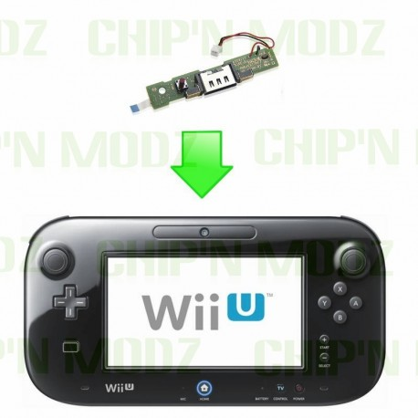 Réparation connecteur stand charge / Bouton synchro- Gamepad Wii U